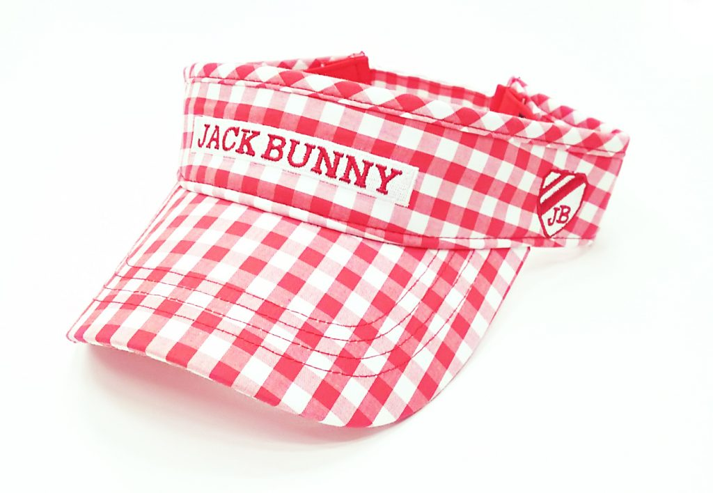 サンバイザー 4,200円(Jack Bunny!! by PEARLY GATES)